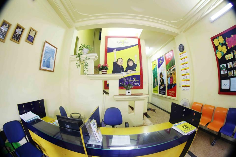 Phòng học hiện đại tại trung tâm Bé Thông Minh