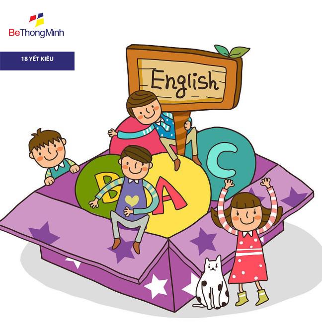 bé học ngoại ngữ