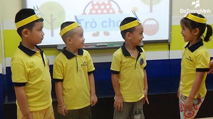 phát triển tư duy toán học cho trẻ