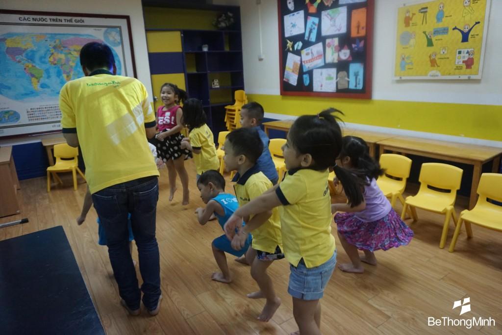 tiếng anh cho trẻ em, trung tâm Bé Thông Minh