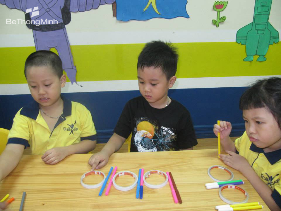 dạy toán cho trẻ mẫu giáo và lớp 1