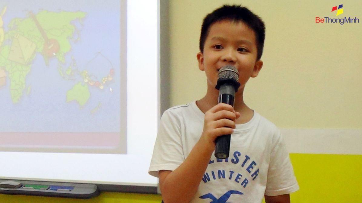 """Cậu bé """"đánh bại nhút nhát"""" của lớp FasTracKids– Vũ Hoàng Khánh"""