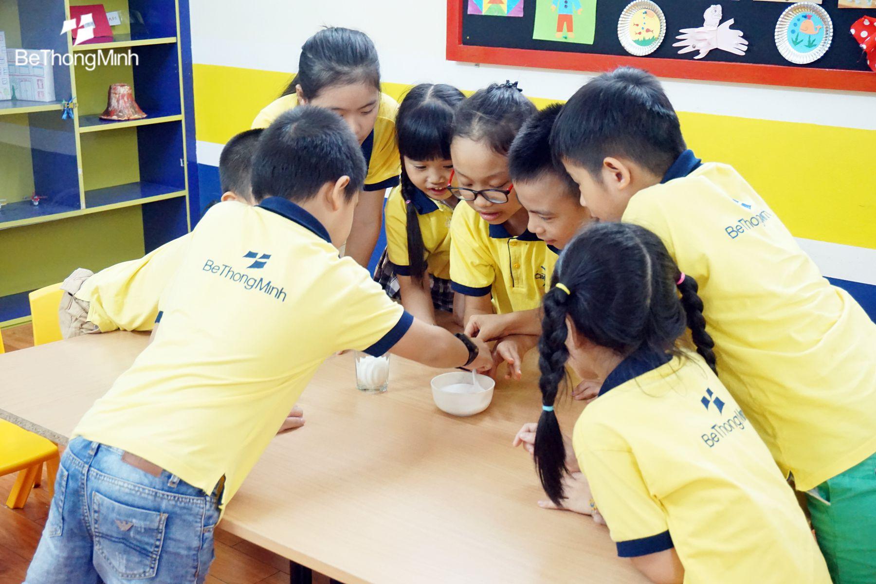 Rèn luyện sự tập trung cho trẻ