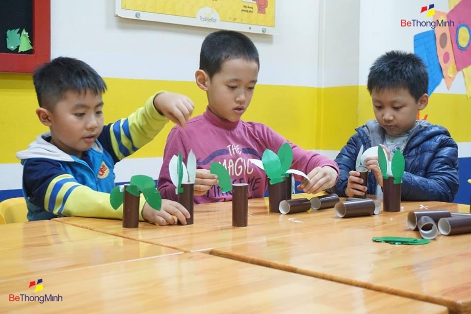 giúp trẻ phát triển tư duy tốt