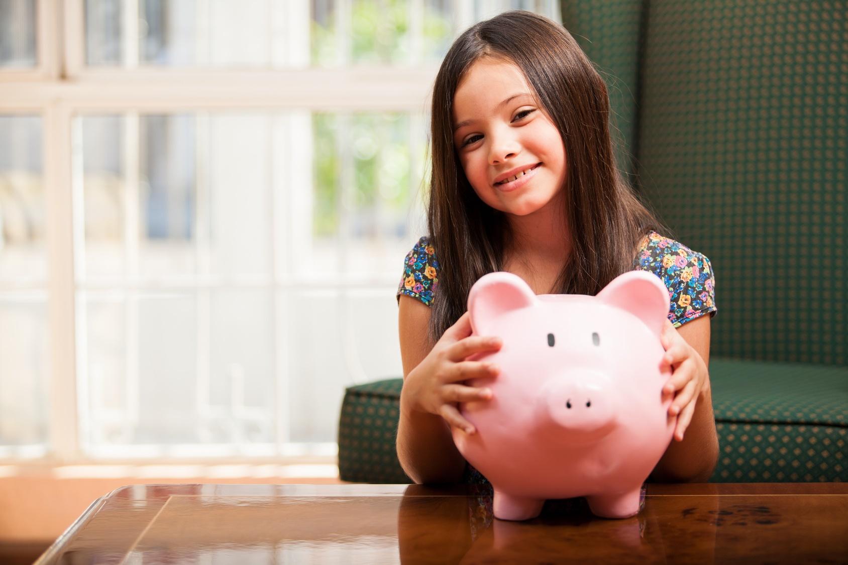 trẻ tìm hiểu về tiền bạc