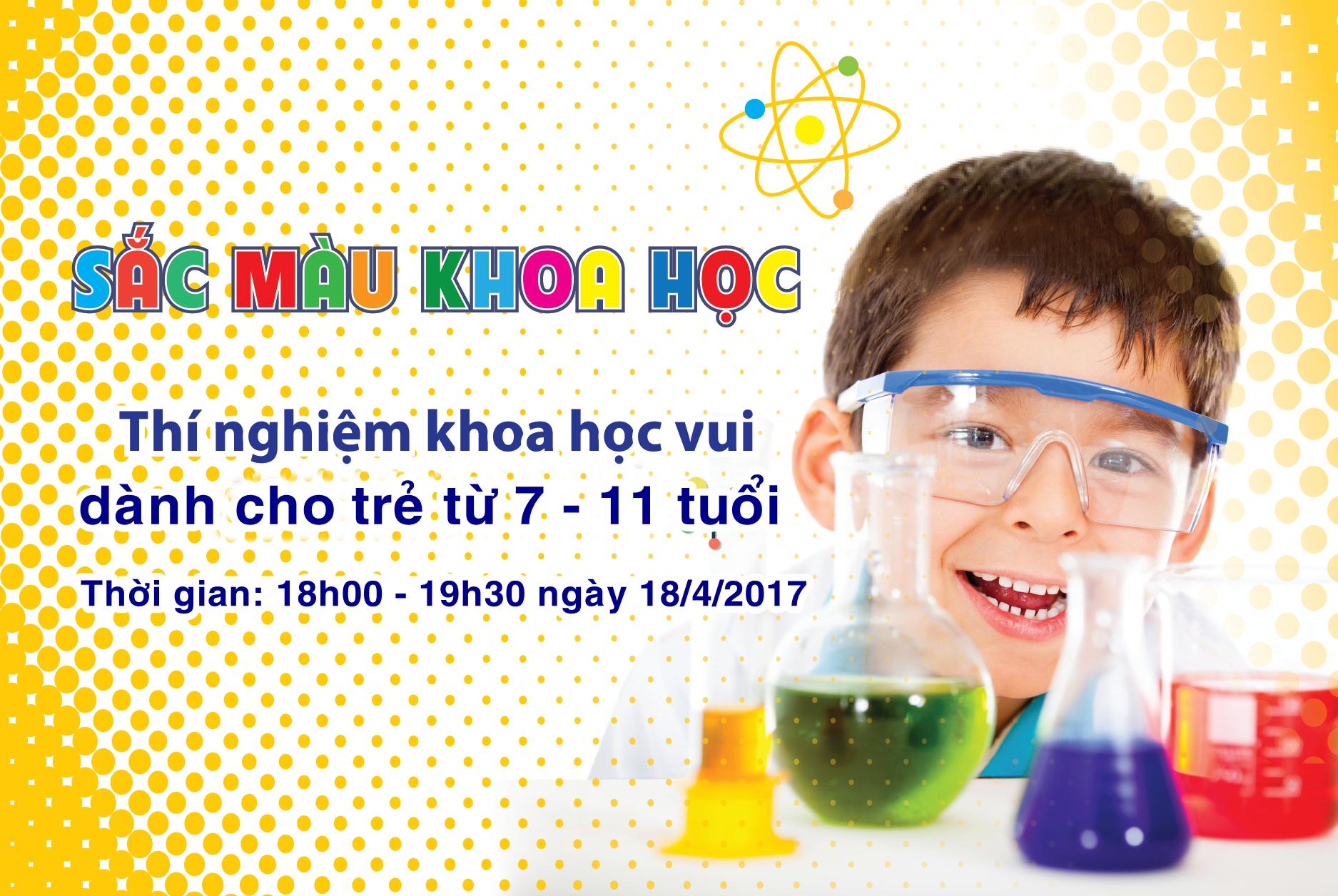 thí nghiệm khoa học vui dành cho trẻ