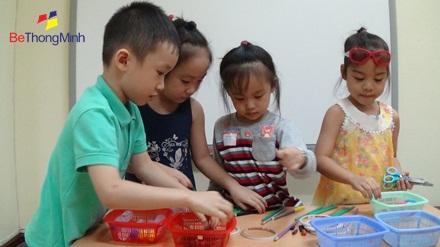 giáo dục sớm cho trẻ qua vui chơi