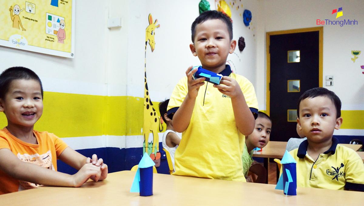 FasTracKids giúp trẻ rèn luyện tư duy sáng tạo
