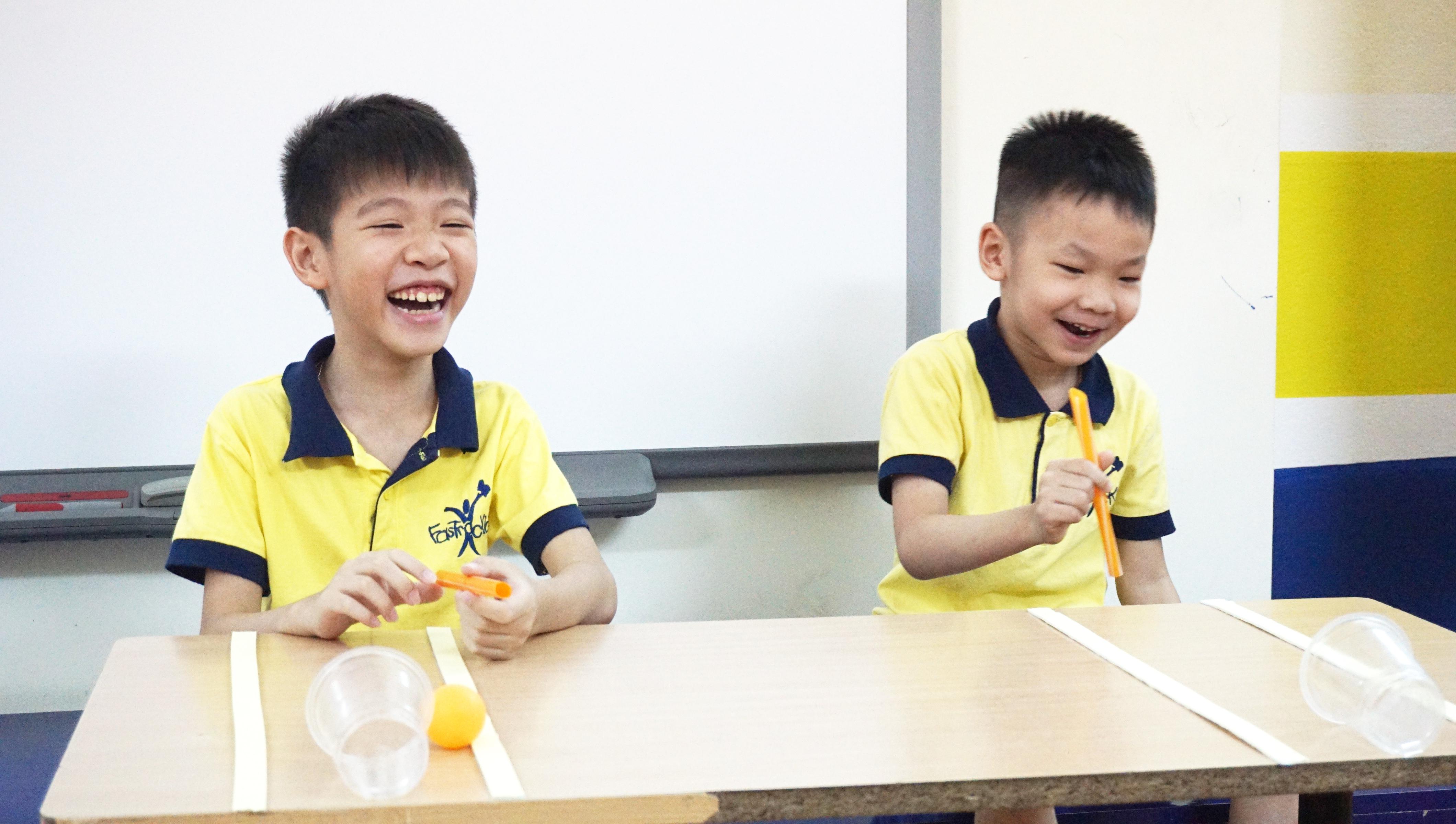 FasTracKids chương trình kỹ năng sống tốt nhất cho trẻ em