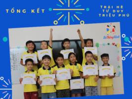 Tự hào với tấm bằng Tốt nghiệp Trại Hè Tư Duy Triệu Phú
