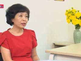 Bà Hoàng Mỹ Anh trả lời Phỏng vấn Truyền hình Nhân Dân