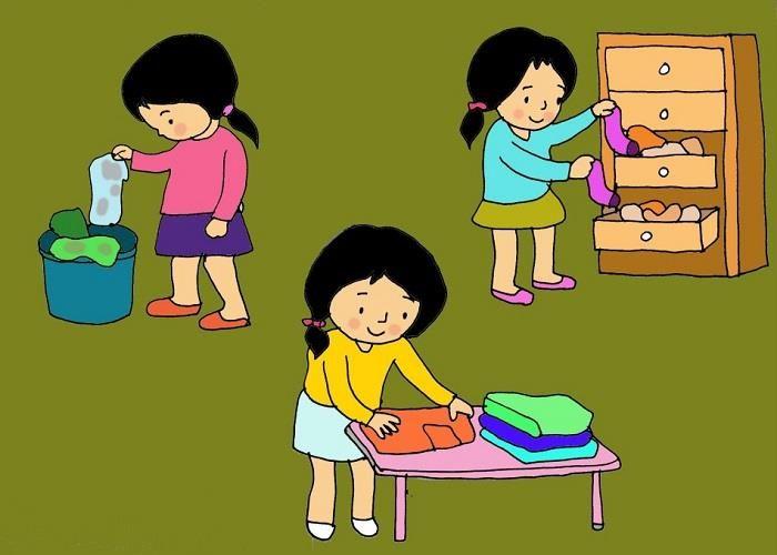 cho trẻ kỹ năng tự lập