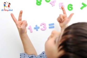 dạy toán cho trẻ