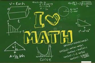 trẻ yêu thích môn toán